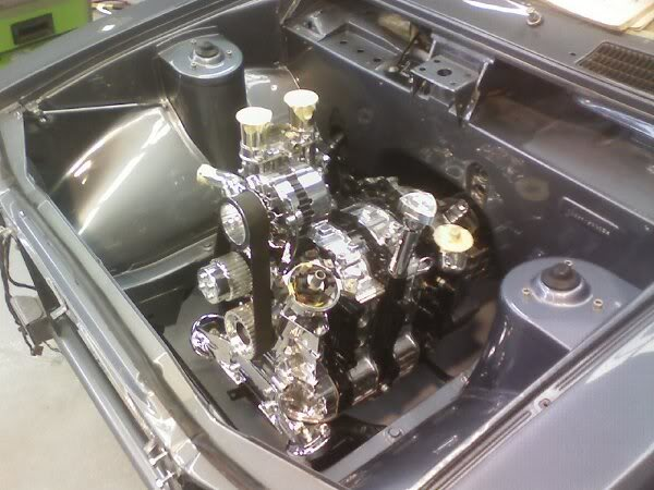 MAZDA RX2 engine