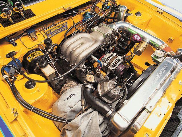 MAZDA RX2 interior