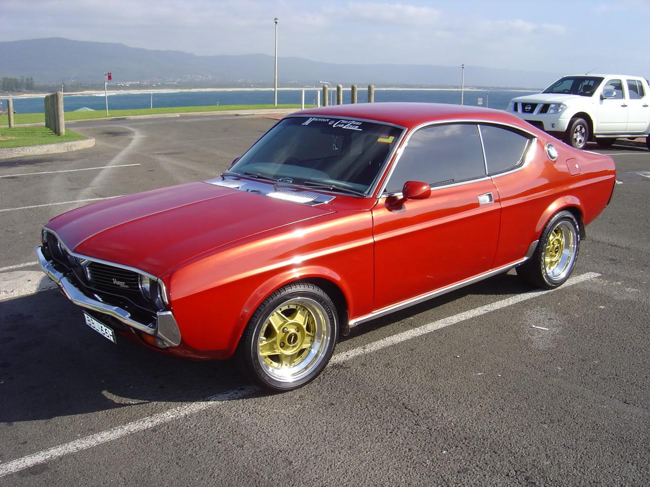 MAZDA RX2 red