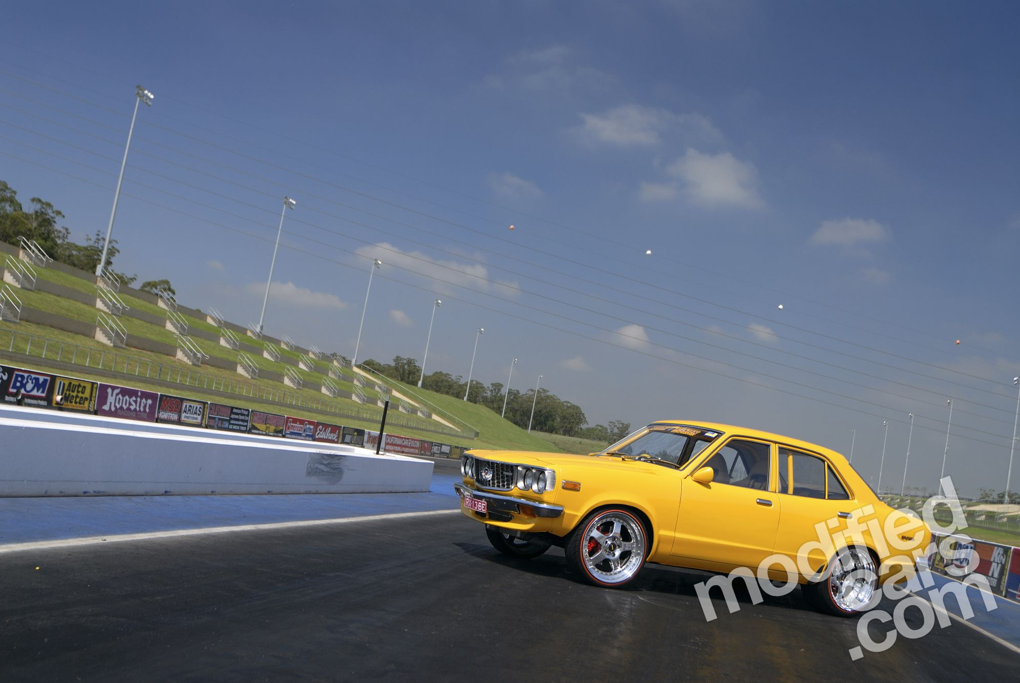 MAZDA RX3 brown