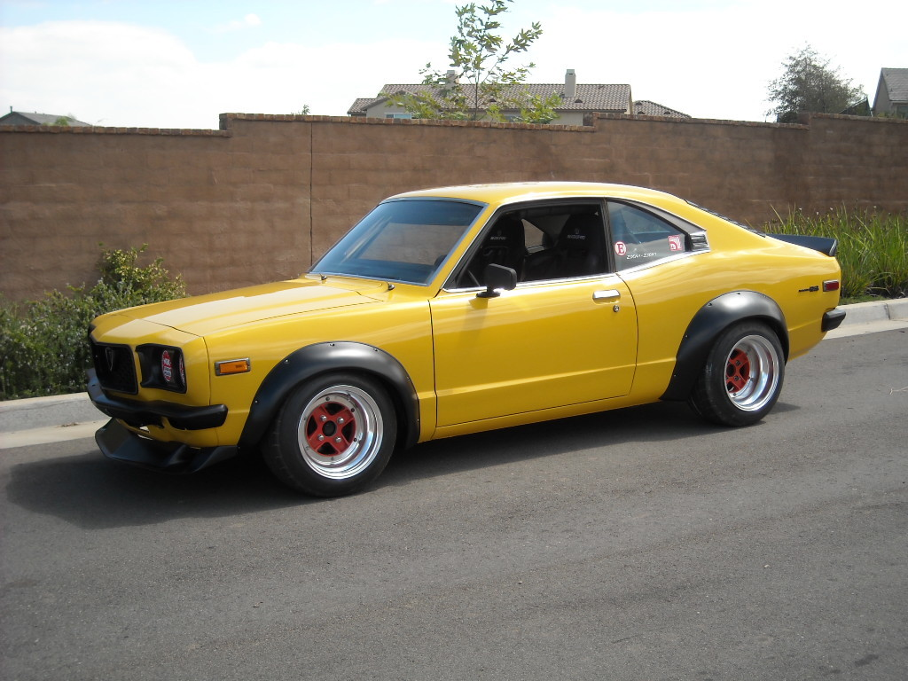 mazda rx-3 - review and photos