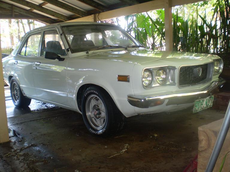 MAZDA RX3 white