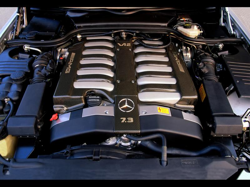 MERCEDES-BENZ 600 engine