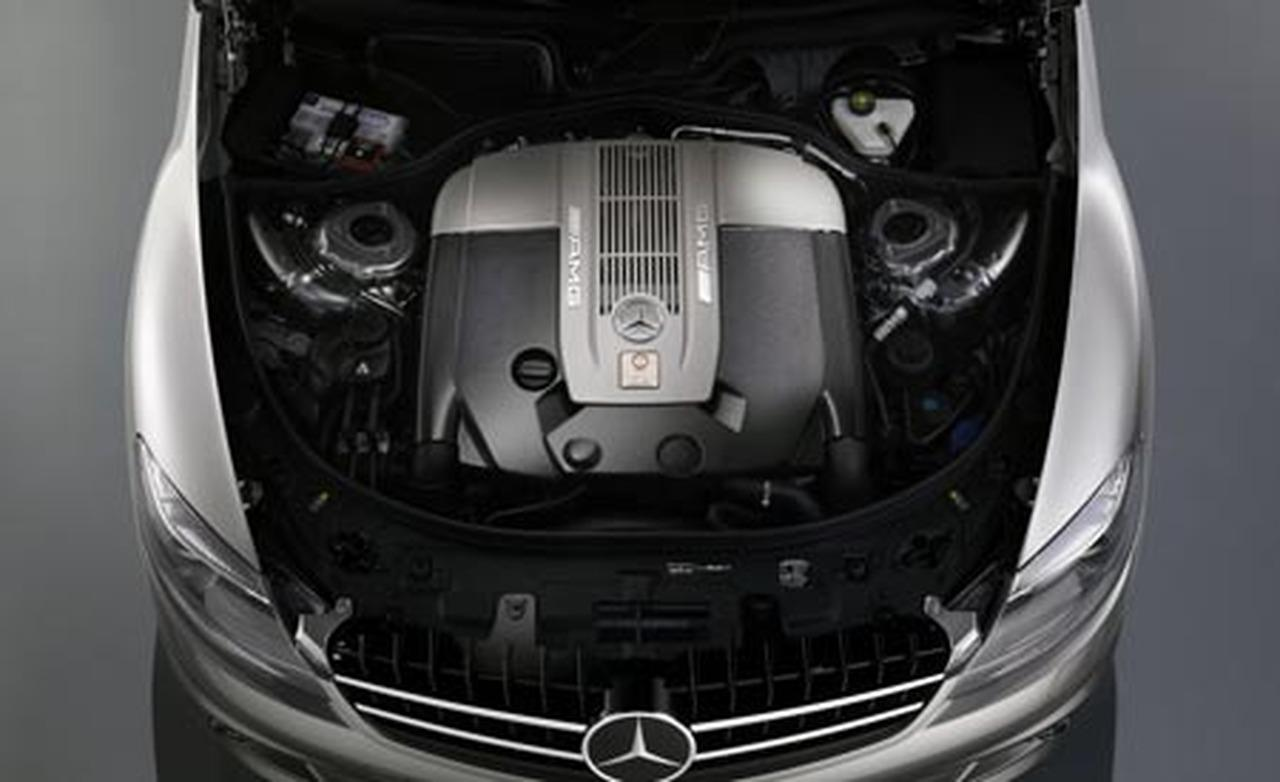 MERCEDES-BENZ AMG CL engine