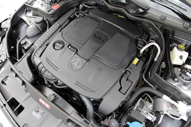 MERCEDES-BENZ C-CLASS engine