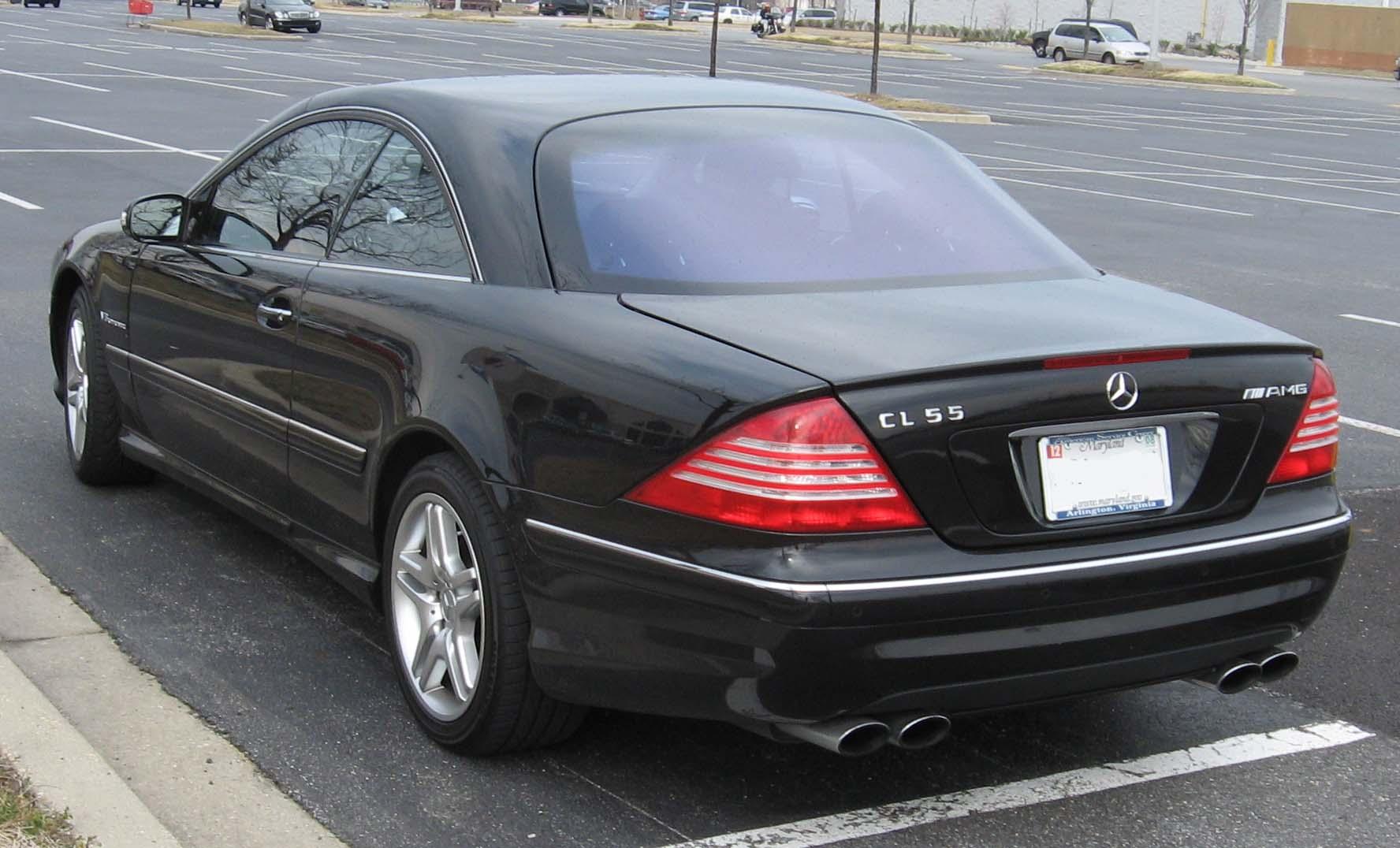 Mercedes benz cl 55 amg for Mercedes benz cl 55 amg