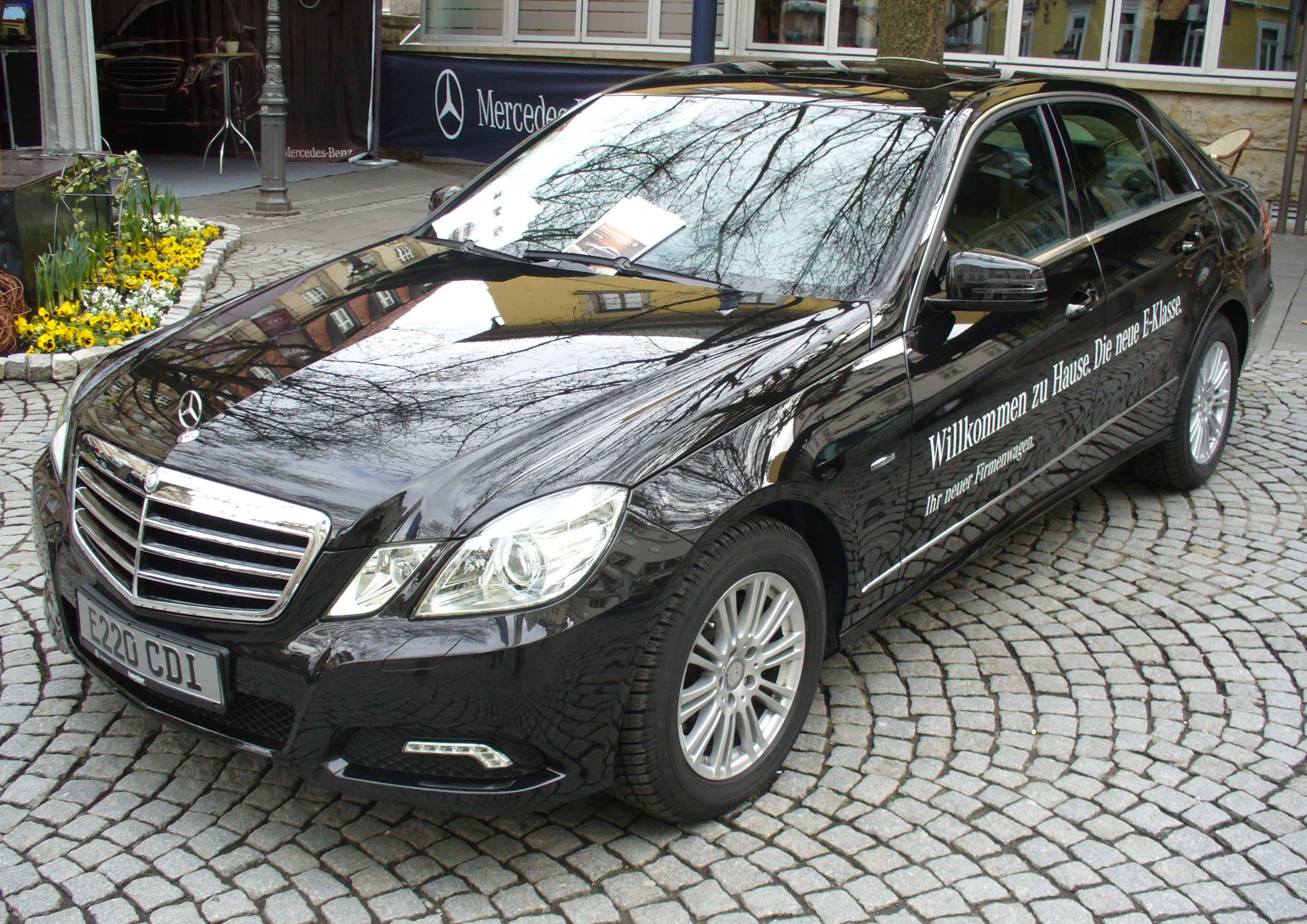 MERCEDES-BENZ E 220 brown