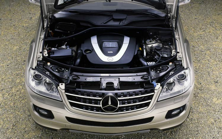 MERCEDES-BENZ ML engine