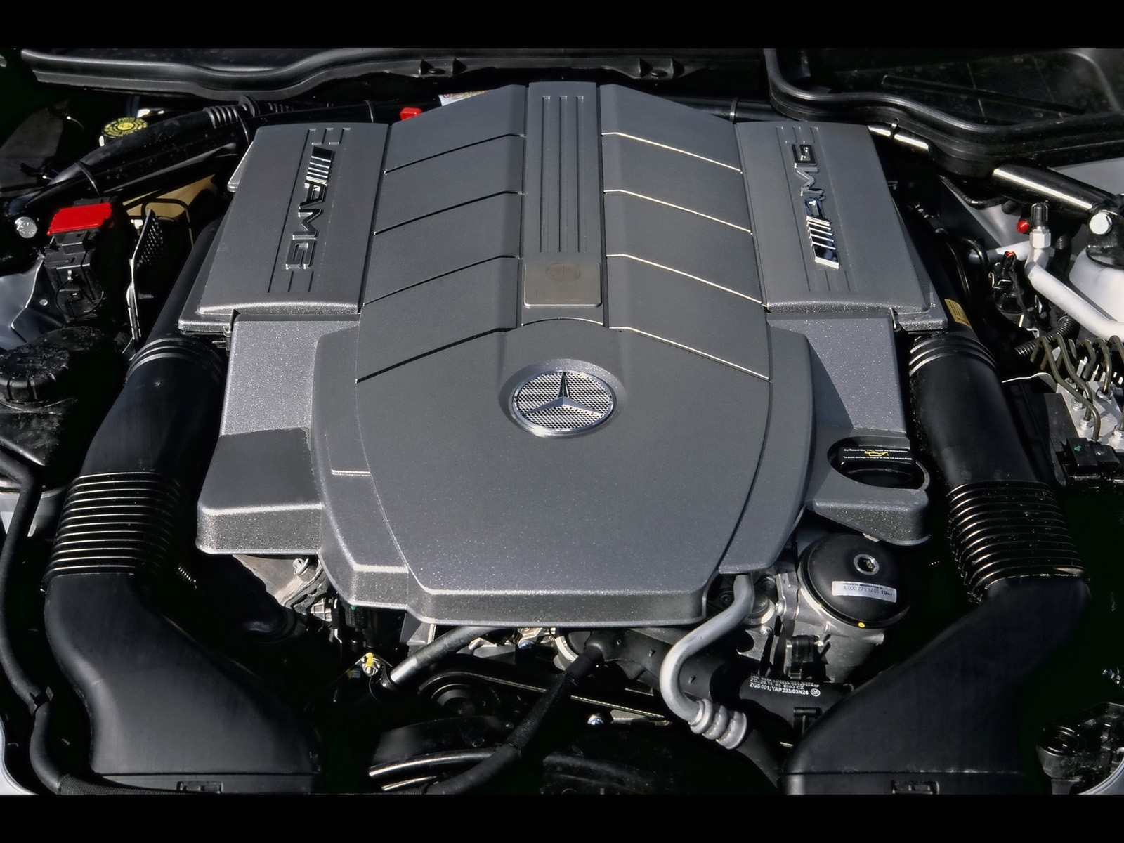 MERCEDES-BENZ R engine