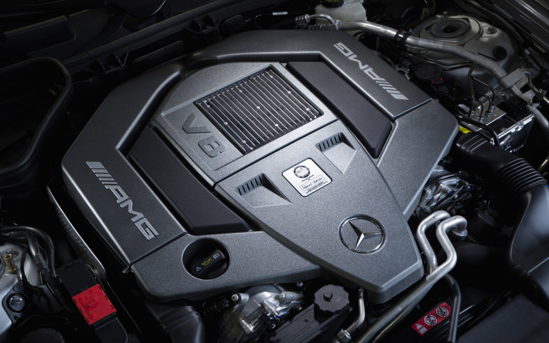 MERCEDES-BENZ SLK engine