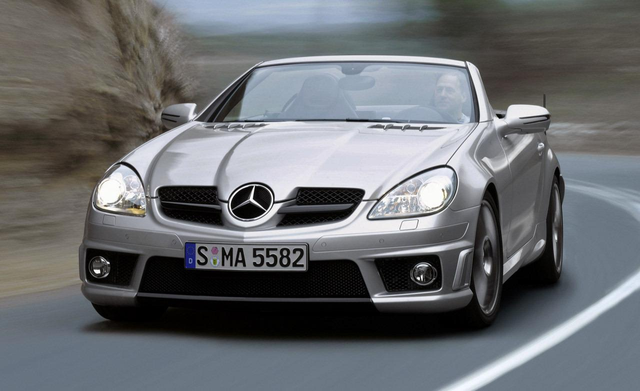 MERCEDES-BENZ SLK green