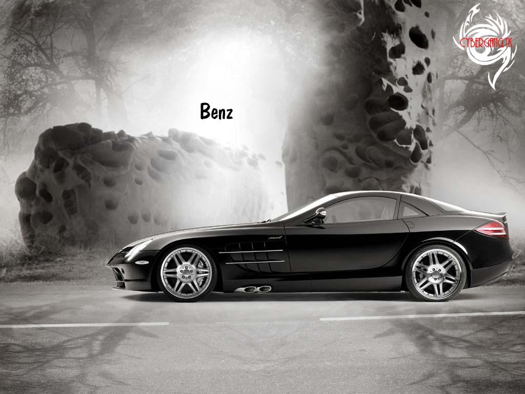 MERCEDES-BENZ SLR MCLAREN black