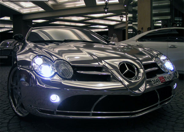 MERCEDES-BENZ SLR green