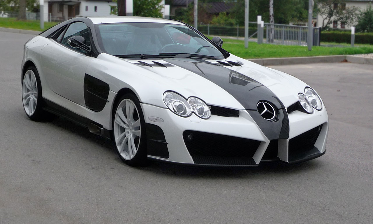 MERCEDES-BENZ SLR white