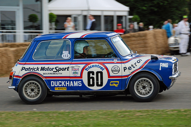 MINI CLUBMAN 1275 GT blue
