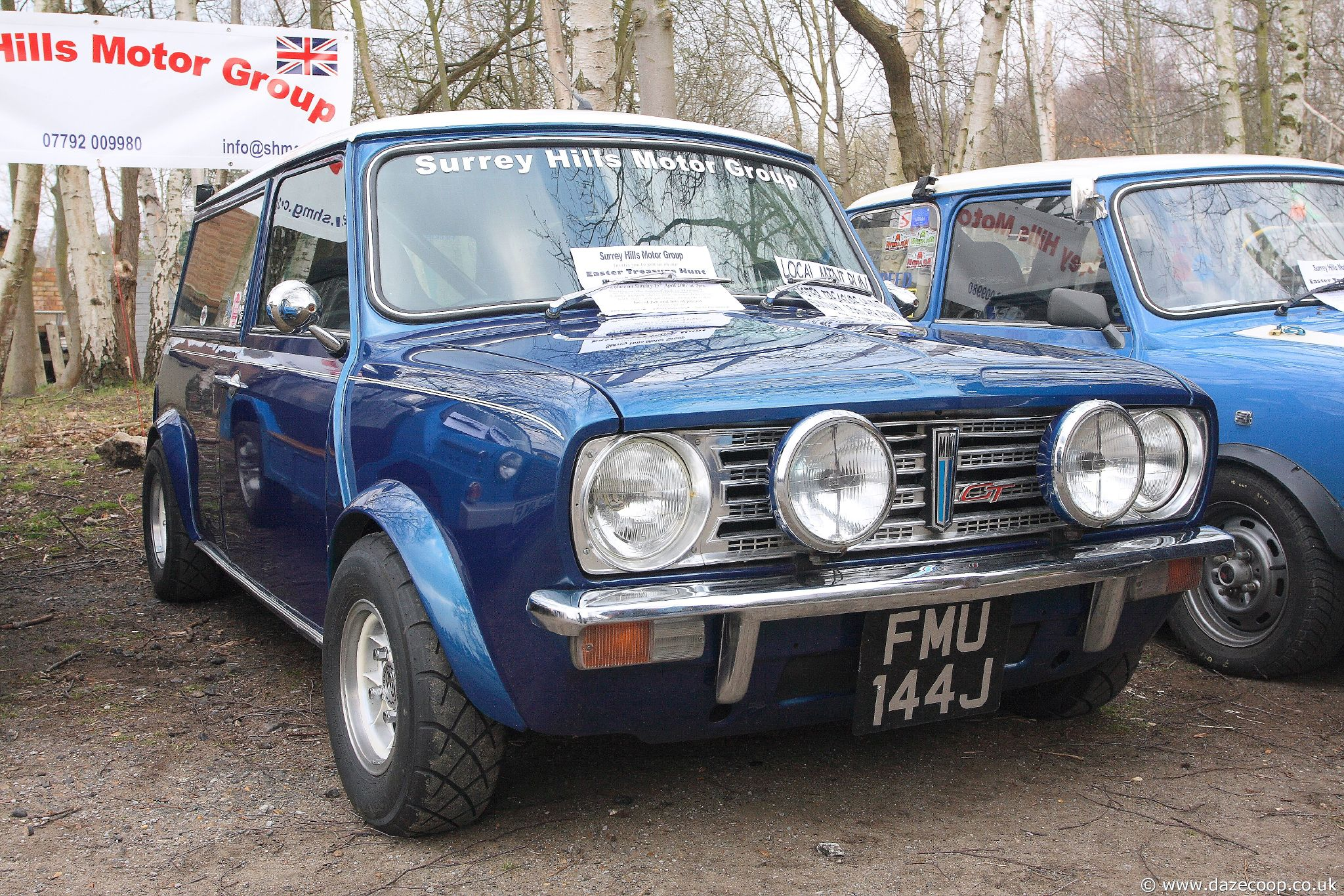 MINI CLUBMAN 1275 GT white