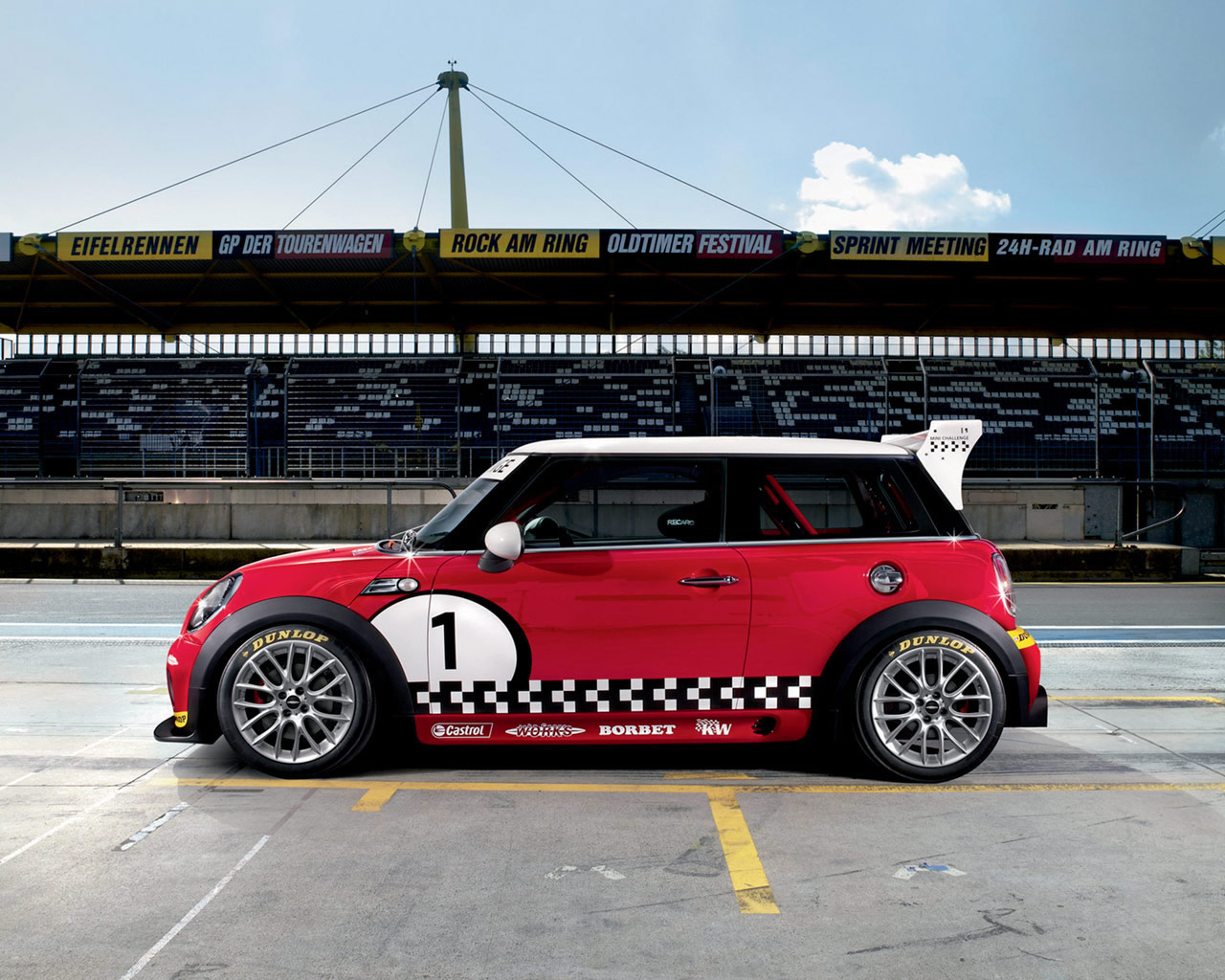 mini wallpaper (Mini Cooper)
