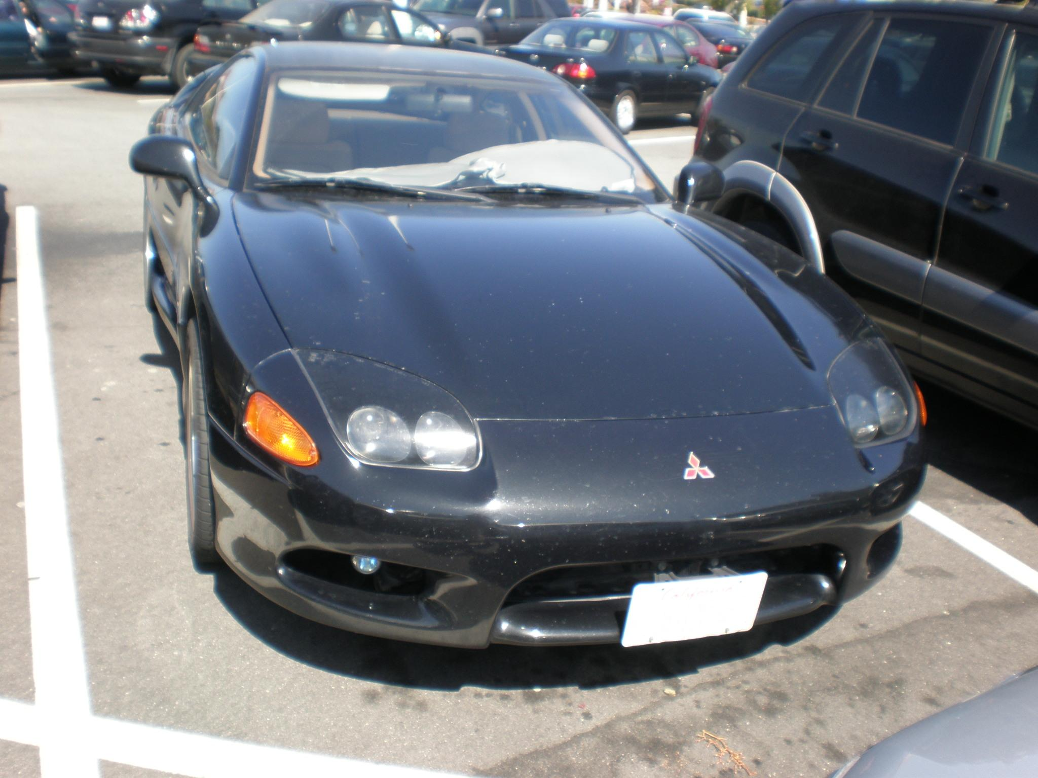 MITSUBISHI 3000 GT black