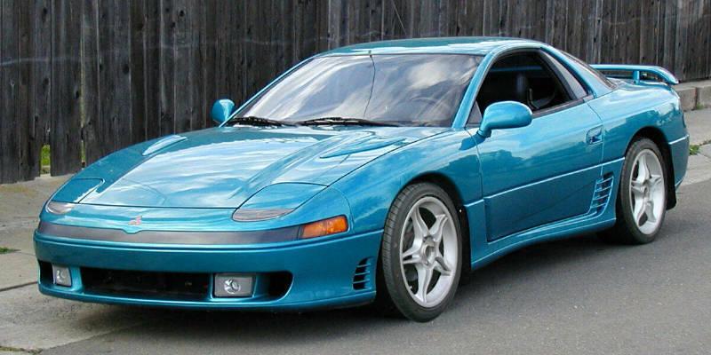 MITSUBISHI 3000 GT blue