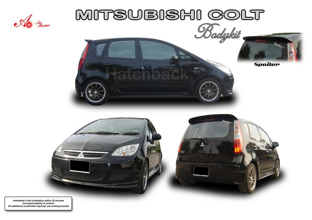MITSUBISHI COLT black