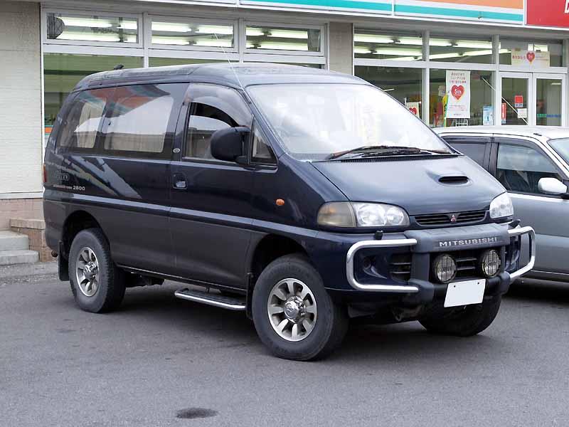 MITSUBISHI DELICA 4WD blue