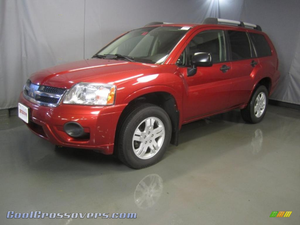 MITSUBISHI ENDEAVOR LS red