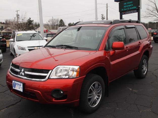 MITSUBISHI ENDEAVOR red