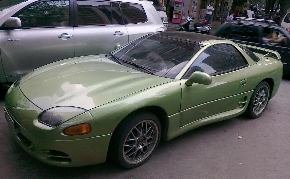 MITSUBISHI GTO green