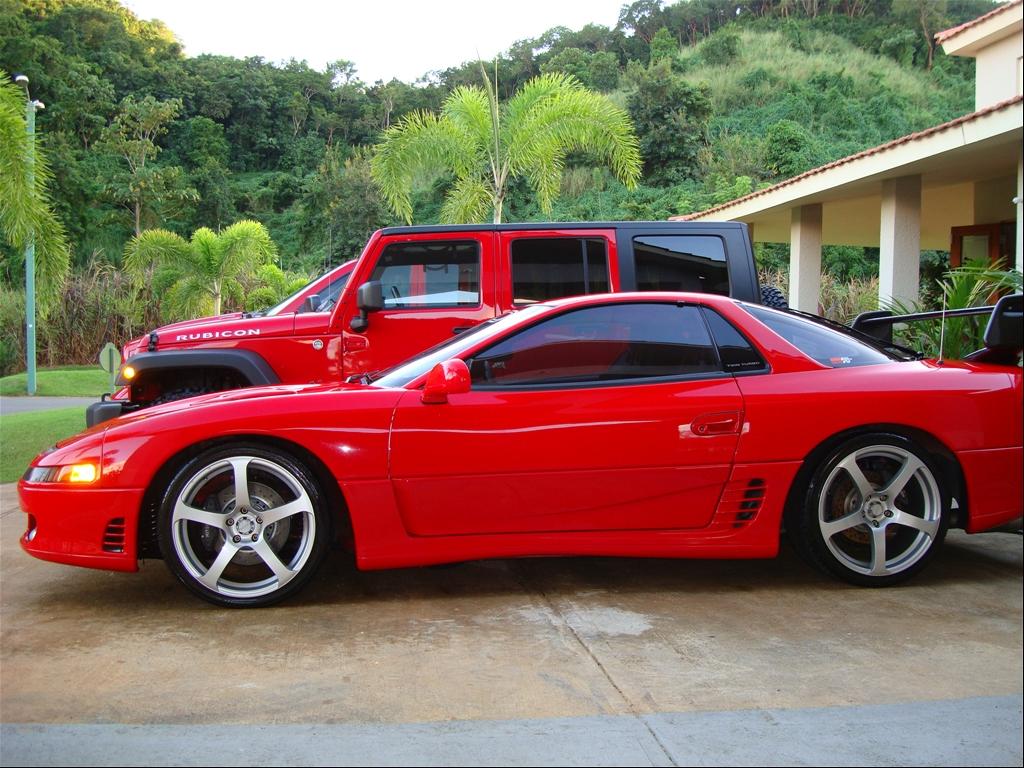 MITSUBISHI GTO red