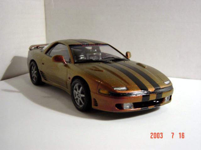 MITSUBISHI GTO silver