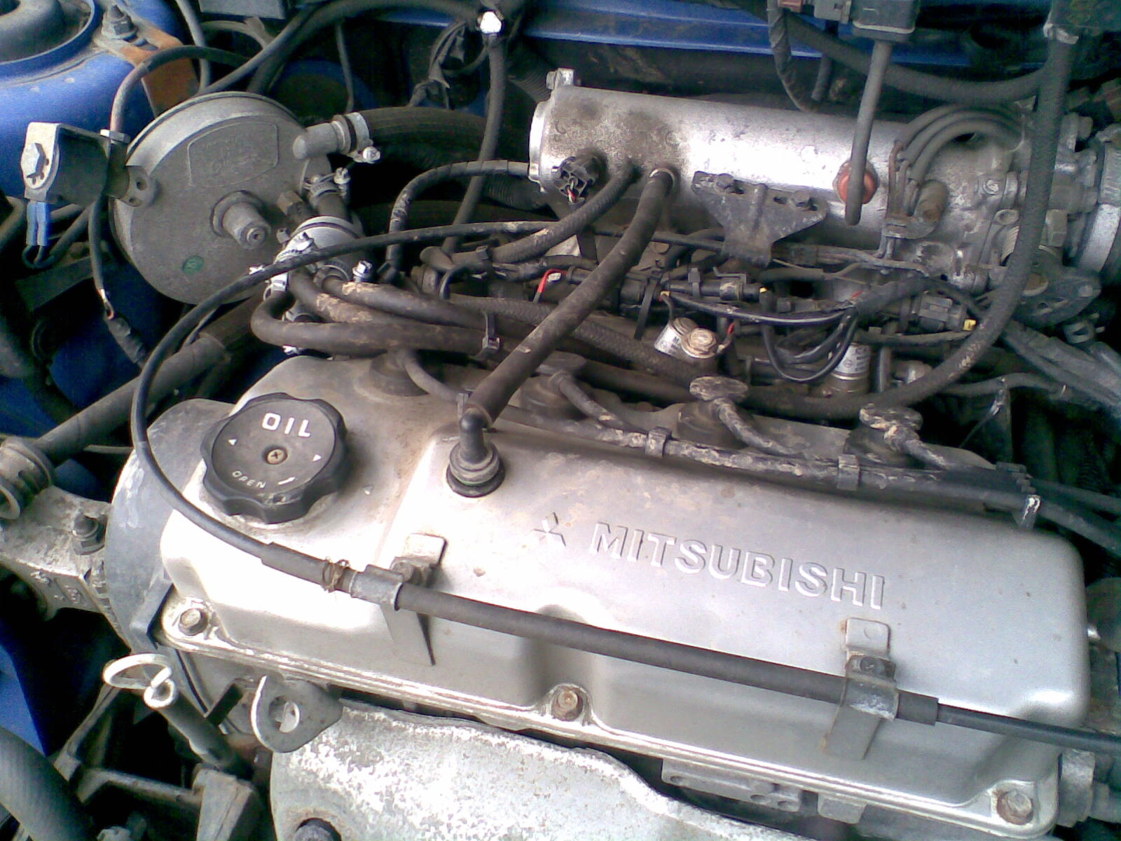 MITSUBISHI SPACE RUNNER engine