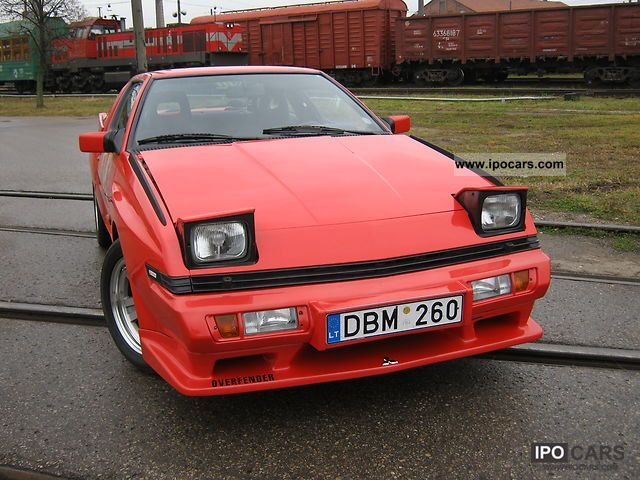 MITSUBISHI STARION TURBO green