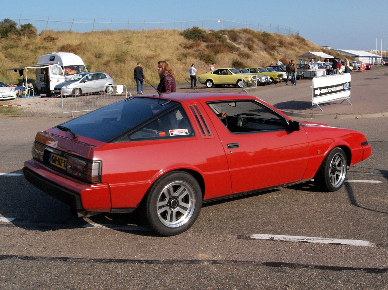 MITSUBISHI STARION TURBO red