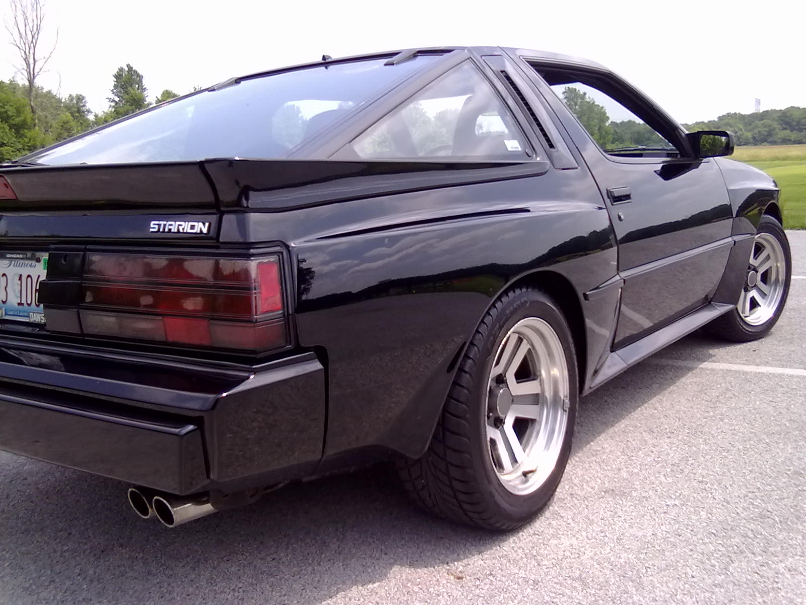 Mitsubishi Starion Review And Photos