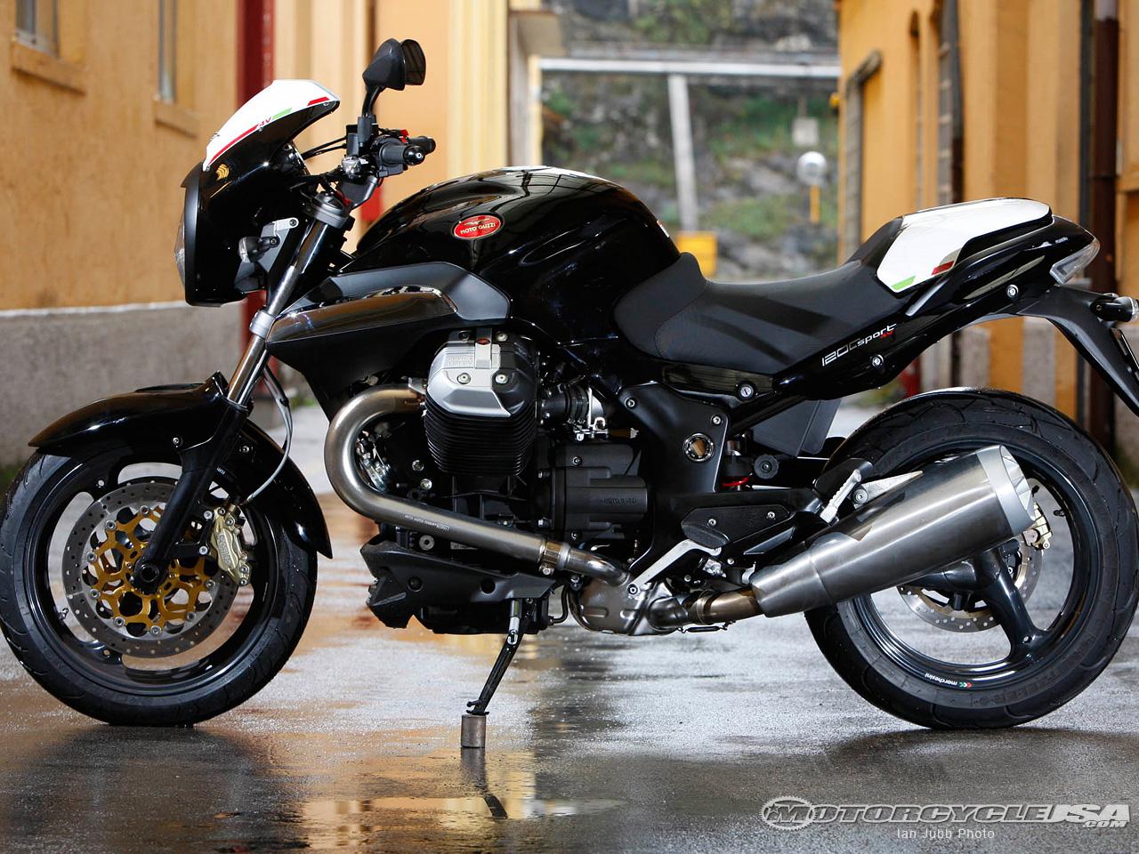 MOTO GUZZI 1200 SPORT black