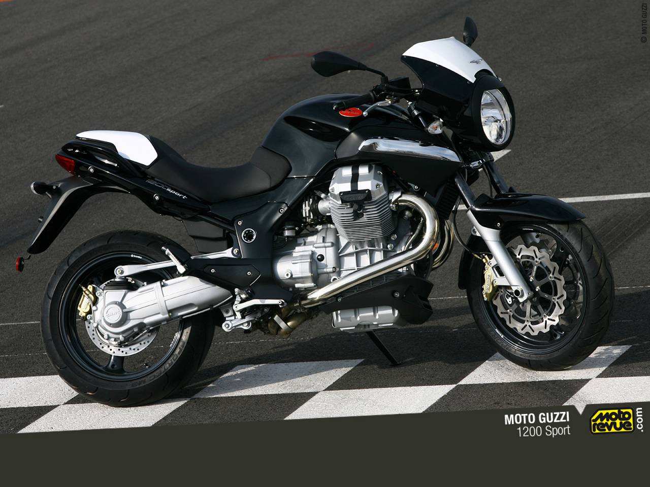 moto guzzi 1200 sport review and photos. Black Bedroom Furniture Sets. Home Design Ideas