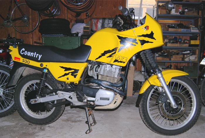 MZ 150 silver