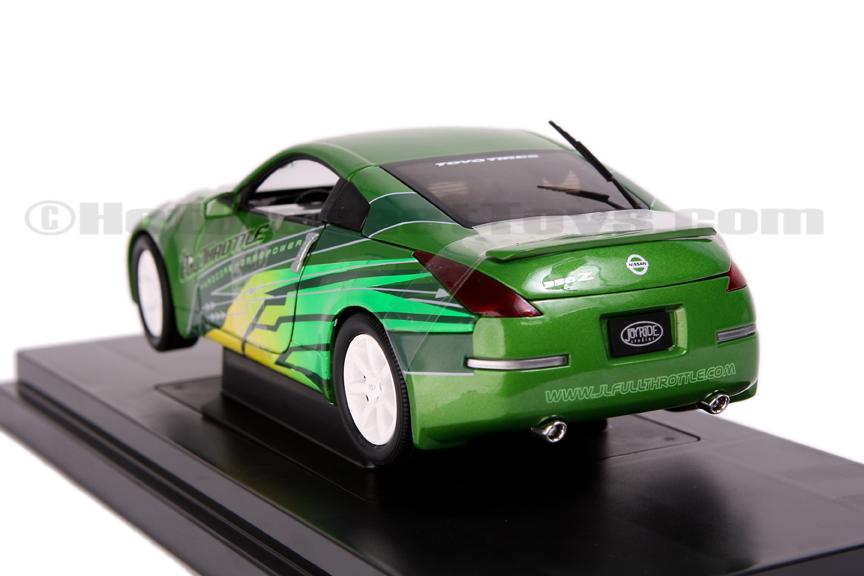 NISSAN 350 Z green