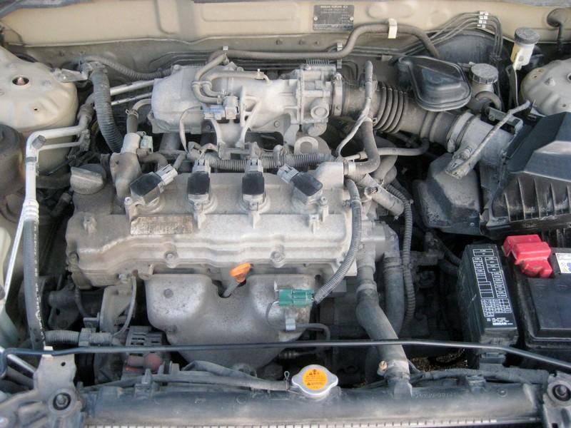 NISSAN ALMERA 1.5 engine