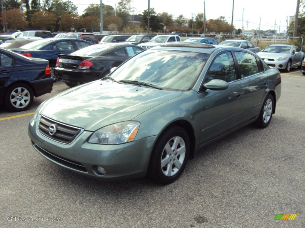 NISSAN ALTIMA green