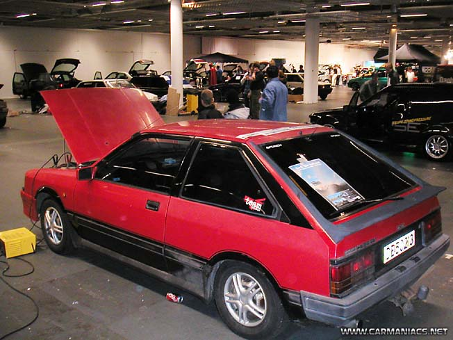 NISSAN CHERRY TURBO
