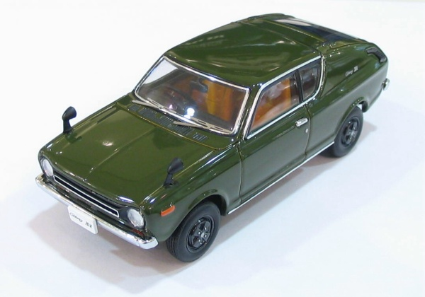 NISSAN CHERRY green