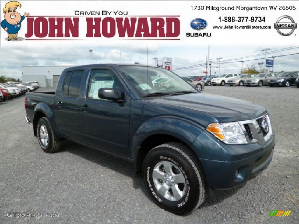 NISSAN FRONTIER 4X4 blue