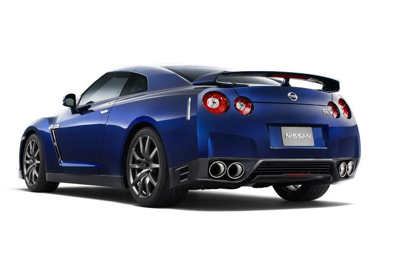 NISSAN GT-R 3.8 blue