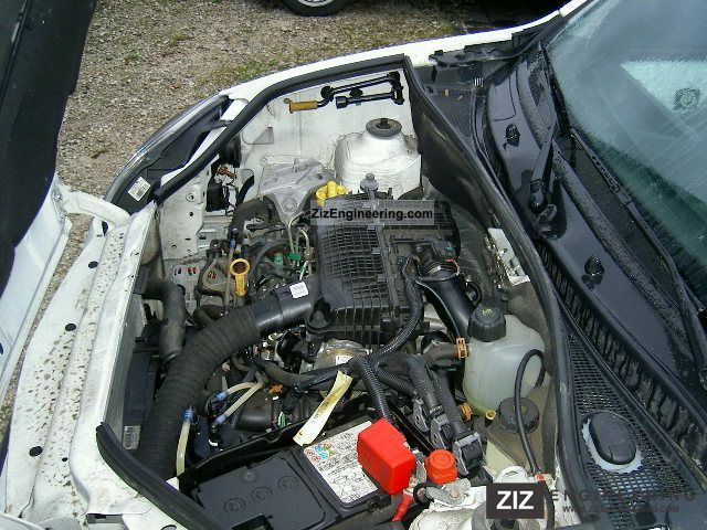 NISSAN KUBISTAR engine
