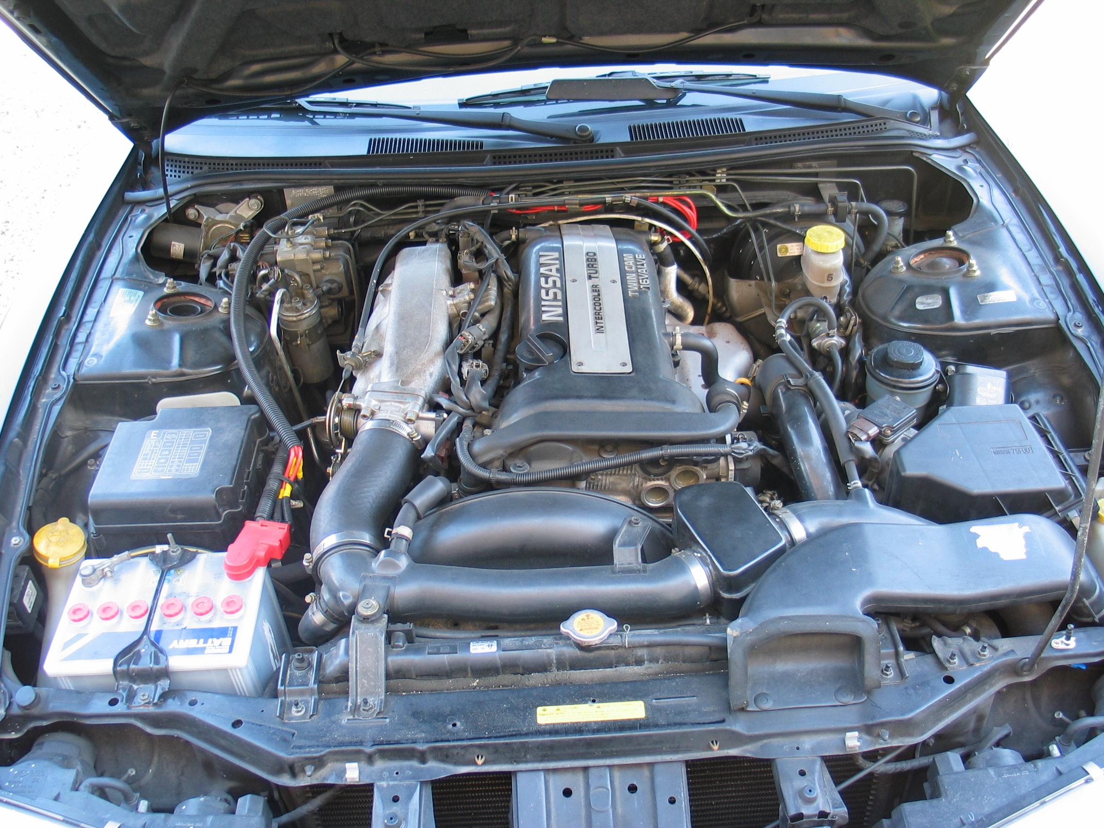 NISSAN MARCH engine