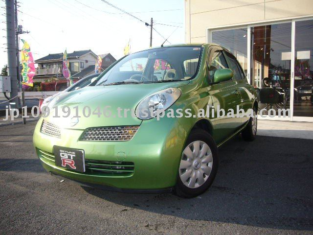 NISSAN MARCH green
