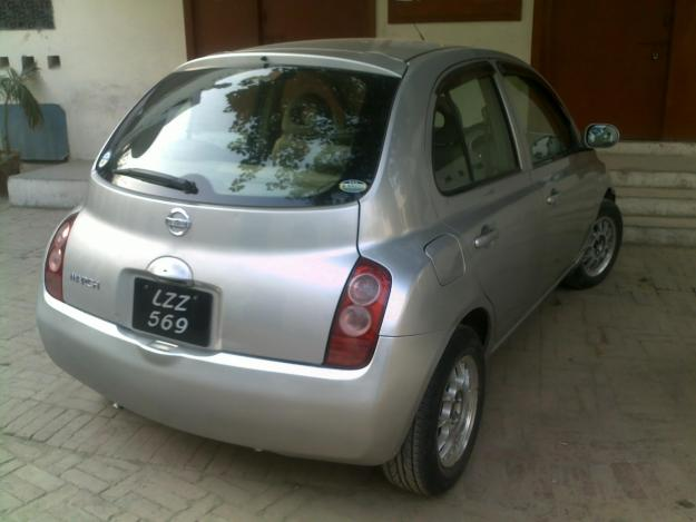 NISSAN MARCH silver