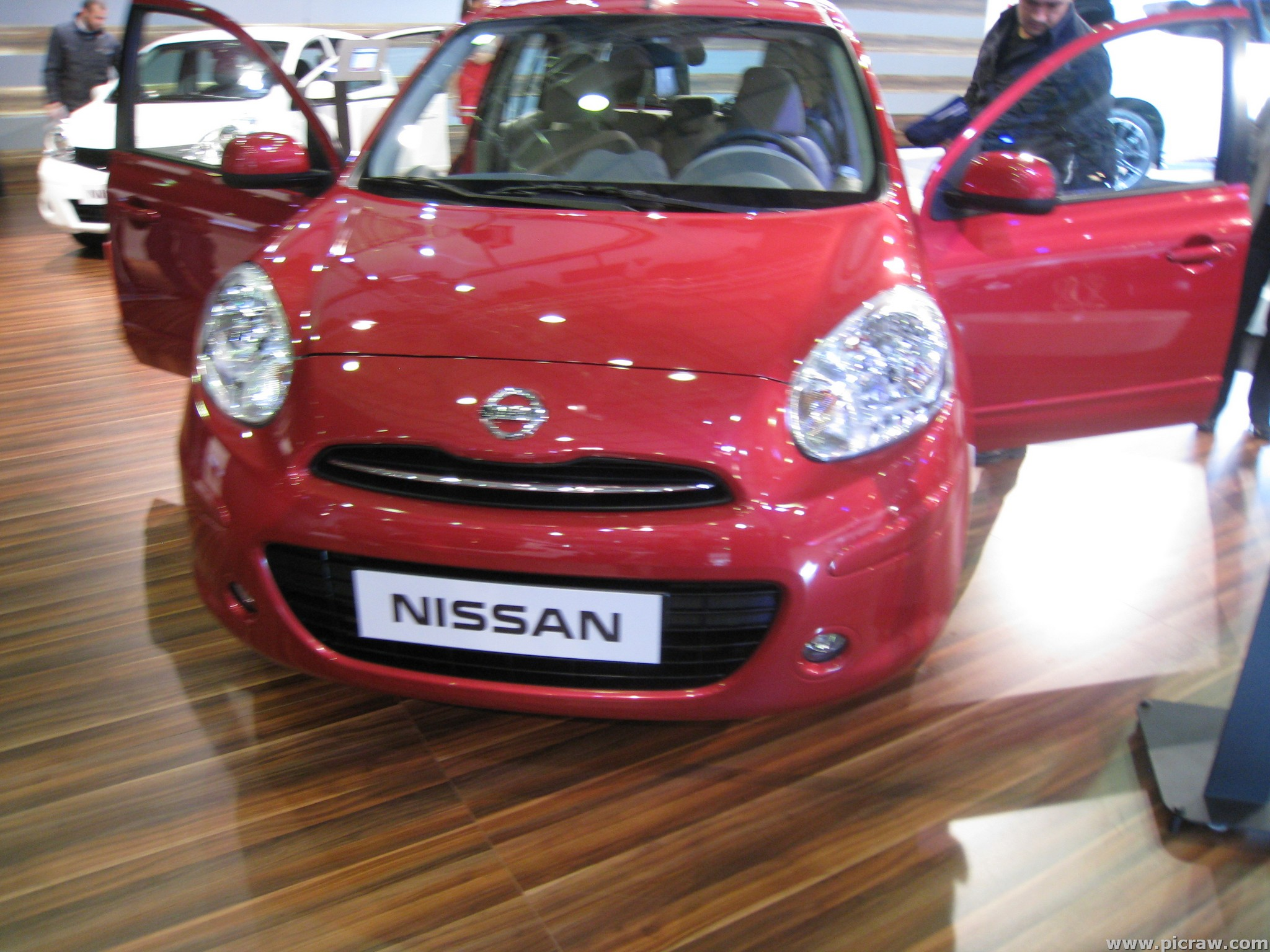 NISSAN MICRA red