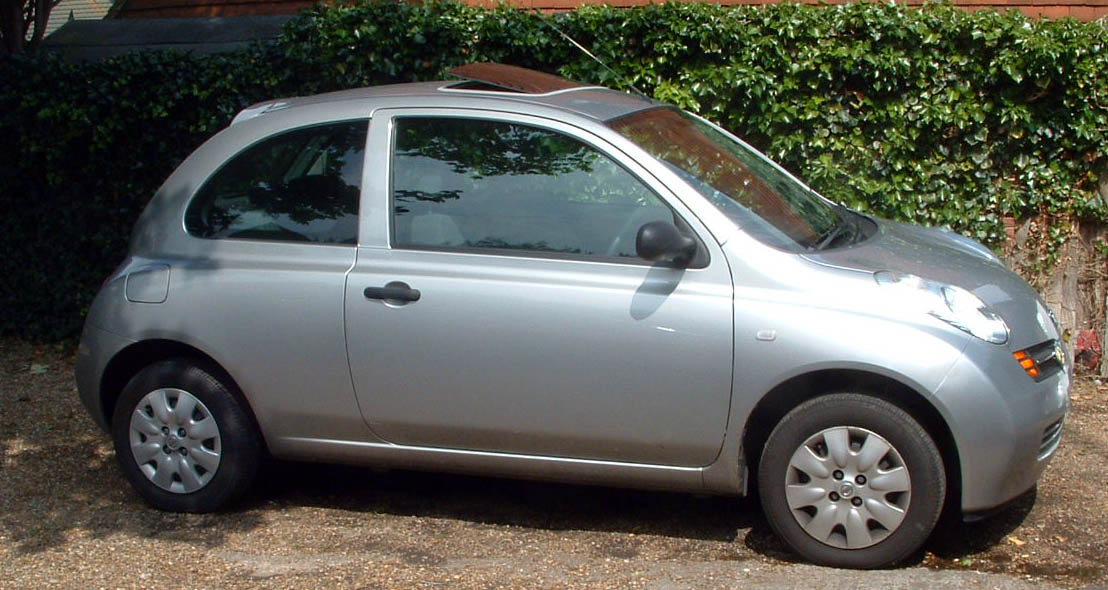 NISSAN MICRA silver